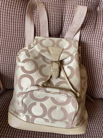 Photo coach backpack - $35 (Frankfort)