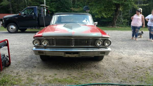 Photo 1964 Ford Galaxie Convertible Rat Rod  Hotrod REDUCED - $5,900 (Belmont, NH)