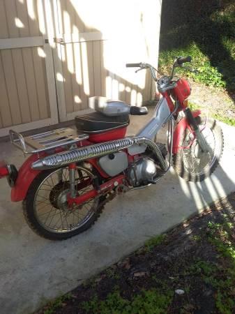 Photo 1970 Honda Trail CT90 - $1800 (Indian Beach)