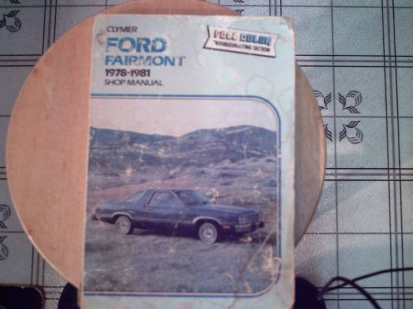 Photo 1978-1981 Ford Fairmont Clymer Shop Manual - $5 (oxford, nc)