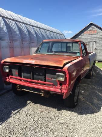 Photo 1987 Dodge 4x4 truck frame - $750 (Hertford)