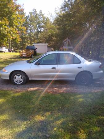 Photo 2002 Chevy Cavalier Project Car - $333 (Clayton)