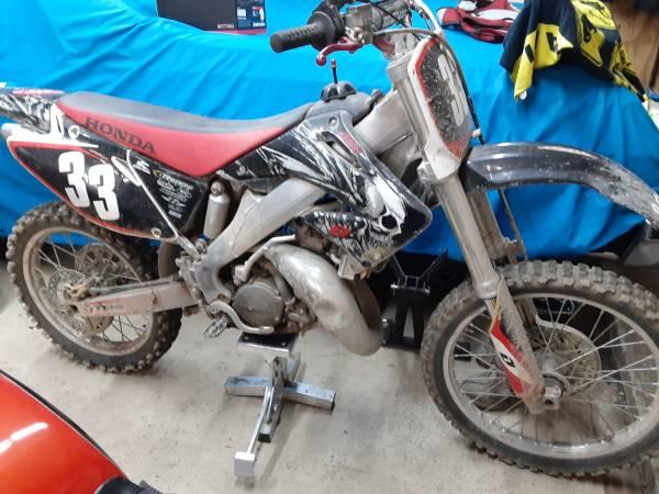 Photo 2003 Honda CR125 - $2,950 (norfolk)