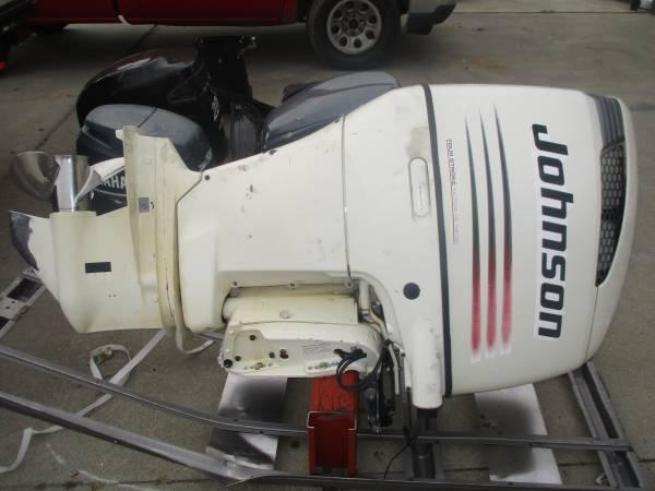 Photo 2004 Johnson  Suzuki Df 200 hp four stroke 25quot shaft outboard - $5000 (Greenville)