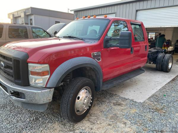 Photo 2008 Ford F350 Dually Crew Cab Power Stroke Diesel ONLY 42k Miles - $19,900 (Wallace)