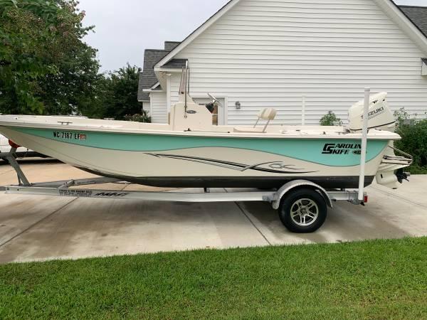 Photo 2017 Carolina Skiff 218 DLV with warranty until 2023 - $26,900 (Greenville)