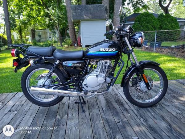 Photo 2019 Suzuki TU250X - $3,500 (New Bern)