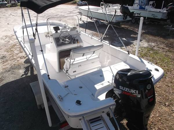 Photo 21ft Carolina Skiff 218 DLV  2007  140 Suzuki  Trailer - $14,999 (Cedar Point)