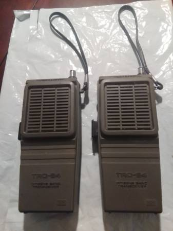 Photo 2 Realistic CITIZENS BAND TRANSCEIVERS by Radio Shack , TRC-84 - $35 (Morehead City)