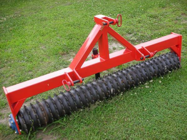 Photo 5ft cultipacker cultivator food plot seeder 6 7 8 - $1100 (Williamston)