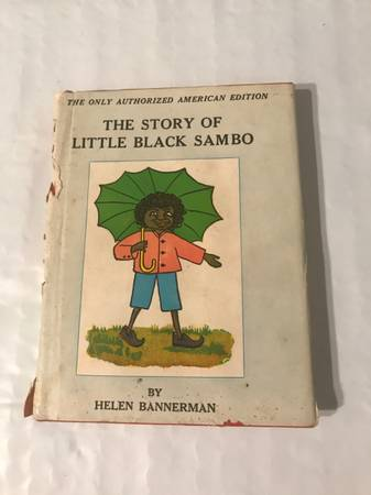 Photo Antique Little Black Sambo books - $100 (Rocky Mount)