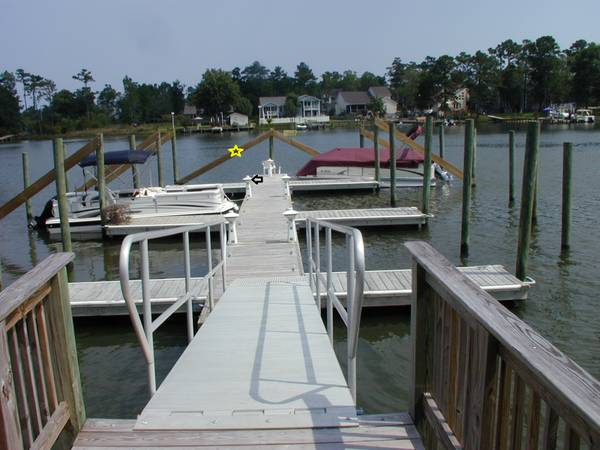 Photo BOAT SLIP FOR RENT SNEADS FERRY - $225 (Sneads Ferry)