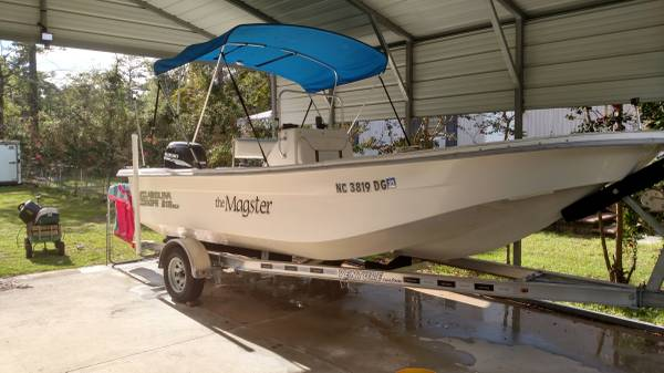 Photo Carolina skiff 218 DLV (Newport)