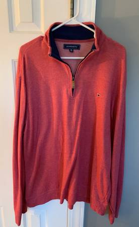 Photo Crown and ivy salmon color zip up - $15 (Winterville)