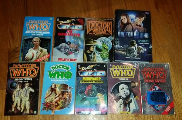 Photo Doctor Who - 10 Novels - $25 (Chapel Hill)