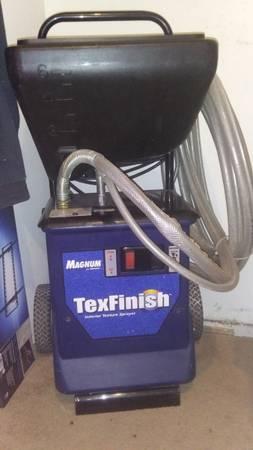 Photo Drywall Texture machine. - $700 (Greenville,nc)