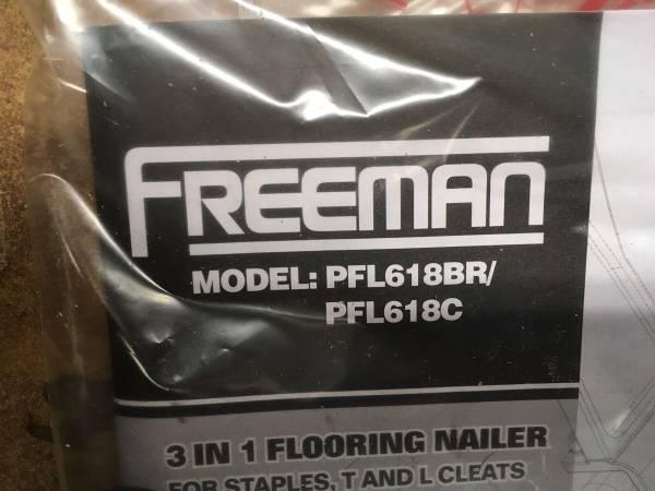 Photo Freeman hardwood flooring nailer  stapler - $60 (New Bern)
