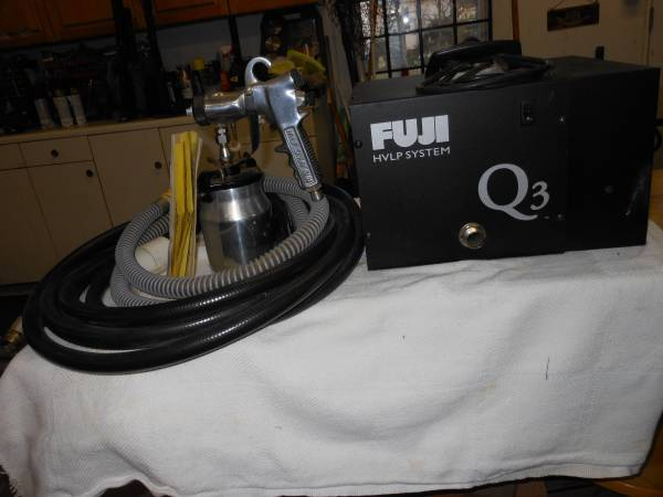 Photo Fuji Q3 HVLP Fine Finish Paint Sprayer - $300 (Elm City)