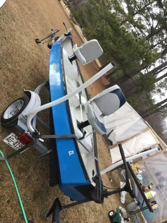 Photo Gheenoe trolling motor trailer clean - $3,000 (Cove city)