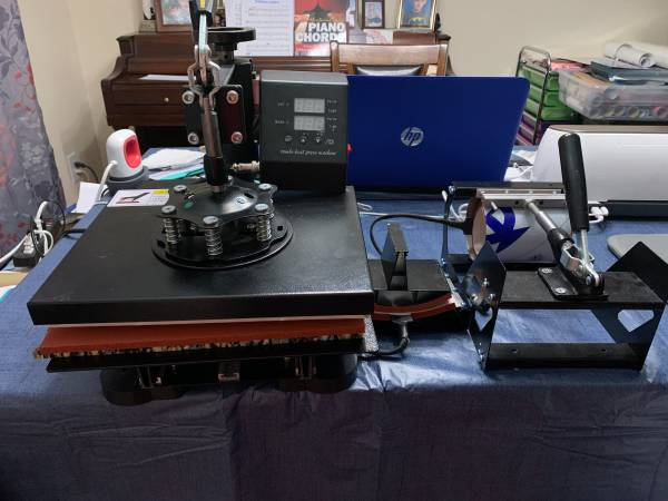 Photo HEAT PRESS - $200 (CEDAR ISLAND)