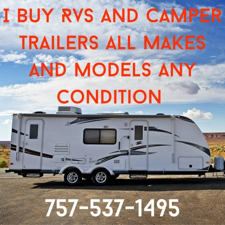 Photo I Buy Used RVs - $10,000 (Any Where)
