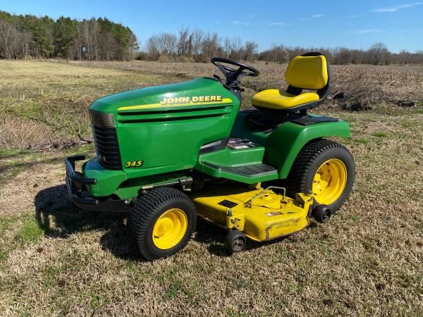 Photo John Deere 345 Lawn and Garden Tractor Mower - $2400 (Goldsboro)