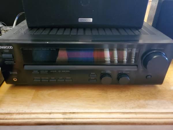 Photo Kenwood 5.1 complete surround sound system - $125 (Camden)