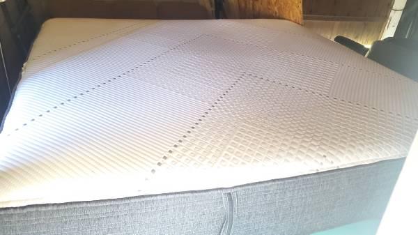 Photo King Beautyrest hybrid mattress-LIKE NEW - $350 (Kinston)
