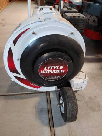 Photo Little Wonder Walk behind blower - $850 (Garner)
