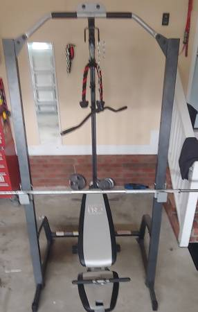 Photo Marcy Power Cage and Bench - $250 (Winterville)
