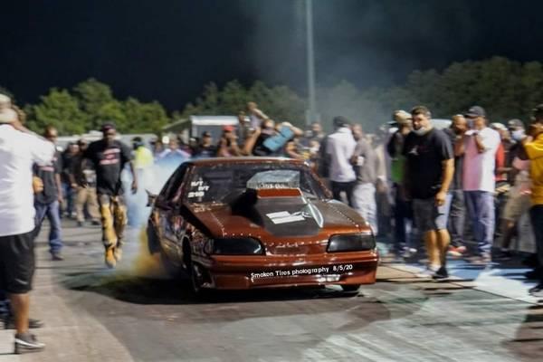 Photo Mustang Drag Racing Car - $60,000 (Rich Square)
