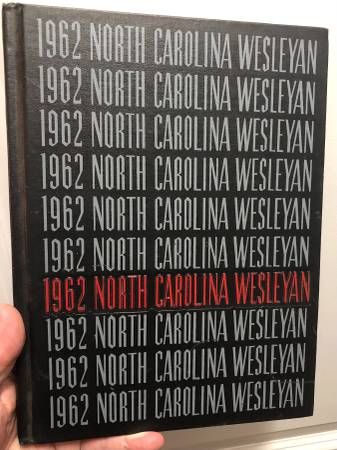 Photo North Carolina Wesleyan Inaugural Yearbook - 1962 - $50 (Wilson - Rocky Mount)