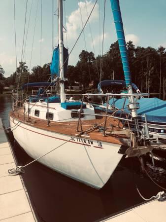 Photo Ocean Cruiser Sailboat - Heading to the Islands - $40,000 (Oriental)