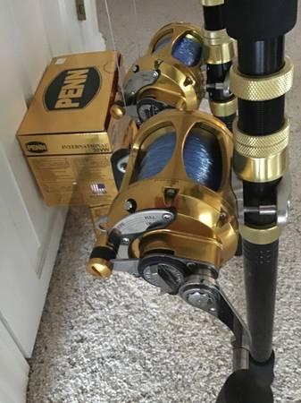 Photo Penn 30 vw new.International roller guide rods - $550 (Cove city)