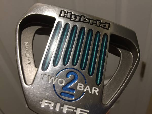 Photo Rife Two Bar Hybrid Putter w head cover plus accessories - $60 (Havelock)