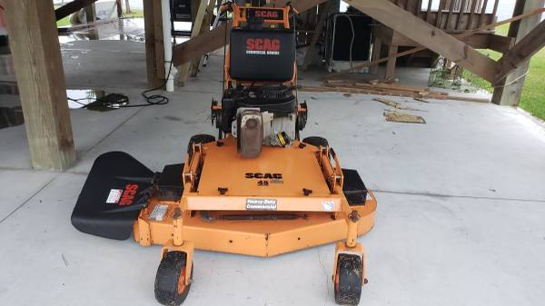 Photo SCAG Heavy Duty Commercial Walk Behind 48quot Mower - $1,200