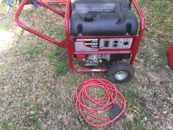 Photo Selltrade Coleman powermate generator with Subaru engine - $575 (Rocky Mount)