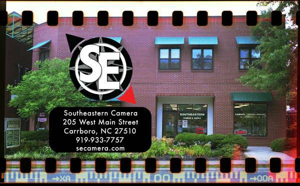 Photo Used Equipment at Southeastern Camera Canon Nikon Sony Olympus Fuji (Carrboro)