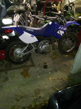 Photo Yamaha TTR 90 Dirt Bike - $1,400 (Wilson)