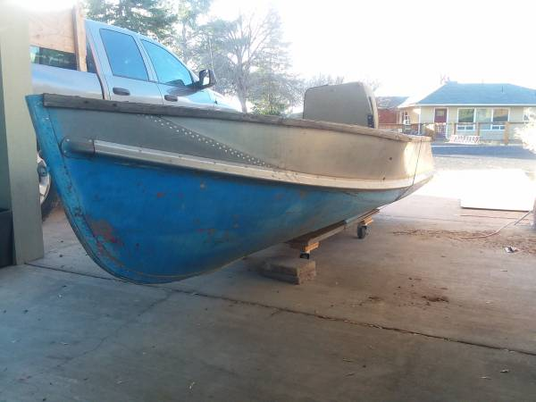 Photo 12 FT Aluminum Crestliner Boat - $200 (PRINEVILLE)