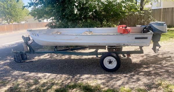 Photo 14 ft Sea king Boat - $1,150 (Baker city)