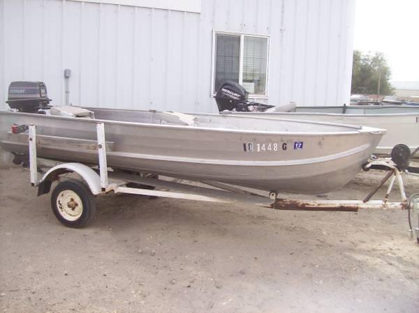 Photo 14 ft boats with motors - $1,695 (Na)