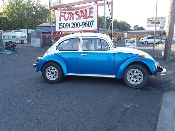 Photo 1974 VW bug  beetle - $3,400 (milton freewateer)