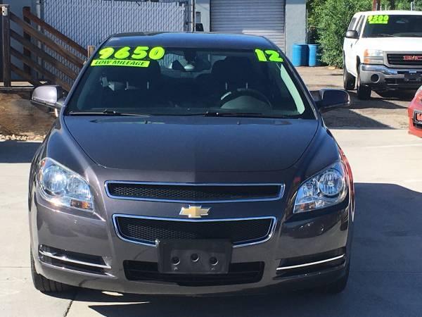 Photo 2012 Chevy Malibu lt Only 27k miles - $9650 (Best Buy Auto Boise)