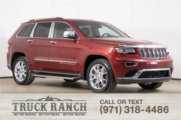 Photo 2014 Jeep Grand Cherokee Summit - $22995 (_Jeep_ _Grand Cherokee_ _SUV_)