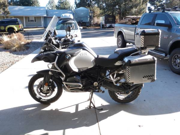 Photo 2015 BMW GS Adventure 1200 - $15,000 (Bend)