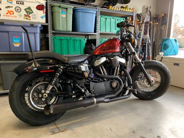 Photo 2015 Harley Davidson Sportster Forty Eight 1200 XL - $8,500 (Bend)