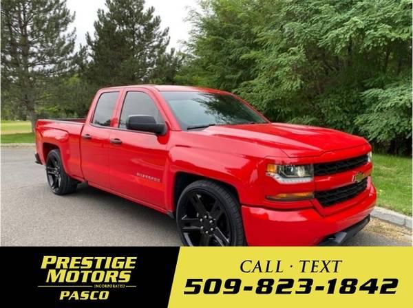 Photo 2018 Chevrolet Silverado 1500 Custom Pickup 4D 6 12 ft - $33,000 (_Chevrolet_ _Silverado 1500_ _Truck_)