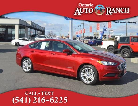 Photo 2018 Ford Fusion Hybrid SE - $15829 (_Ford_ _Fusion Hybrid_ _Sedan_)