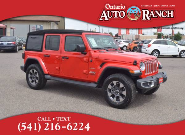 Photo 2018 Jeep All-New Wrangler Unlimited Unlimited Sahara - $39,895 (_Jeep_ _All-New Wrangler Unlimited_ _SUV)